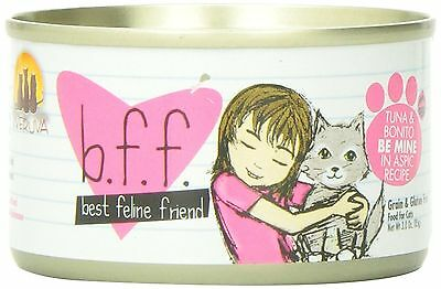 Weruva Best Feline Friends Tuna/Bonito Be Mine 3-Ounce - Pack Of 12 3 Ounce New
