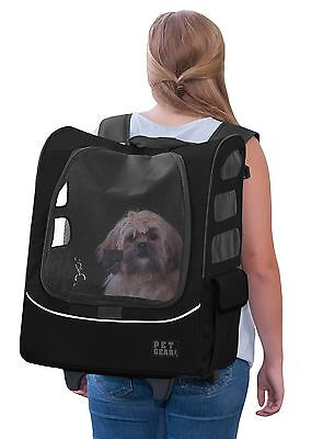Pet Gear I-Go2 Plus Traveler Rolling Backpack Carrier for Cats and Dogs u... New