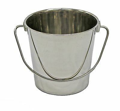 Fuzzy Puppy Pet Products HDP-4 Heavy Duty Pail with Handle 4-Quart 4 quart New