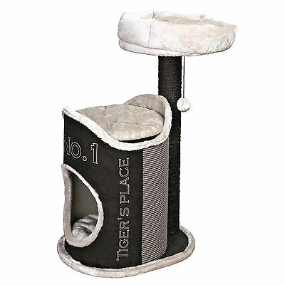 Trixie Pet Products Susana Cat Tree Black/Cream 21.25 x 17.25 x 35.25 inc... New