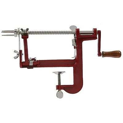 Johnny Apple Peeler by VICTORIO VKP1011 Cast Iron Clamp Base New