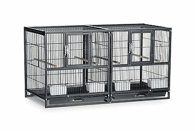 Prevue Pet Products F075 Hampton Deluxe Divided Breeder Cage New