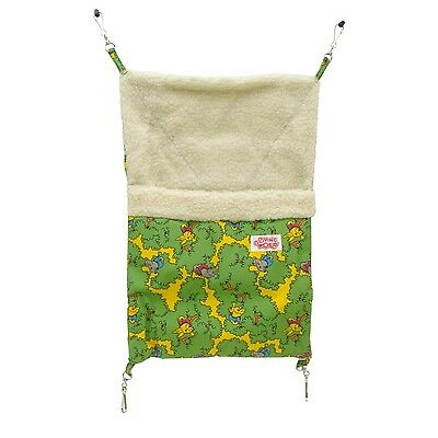 Living World 60891 Ferret Sleeping Bag Green 29 x 44cm (12 x 17.5-Inch ) New
