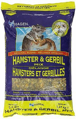 Hagen Hamster and Gerbil Staple VME Diet 5-Pound New