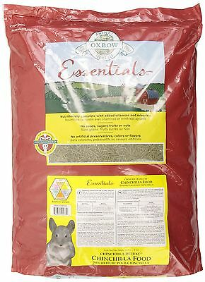 OXBOW 1022062500 Animal Health Essentials Deluxe Chinchilla Food 25-Pound New