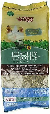 Living World Healthy Timothy for Guinea Pig 4-Pound New