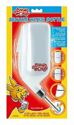 Living World Secure Water Bottle Extra Large 1 0 ml (38.8 Ounce) New