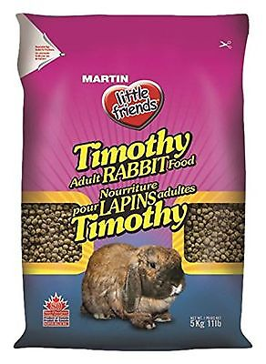 Martins 20-0405 Less Active Rabbit Timothy 5-Kilograms New