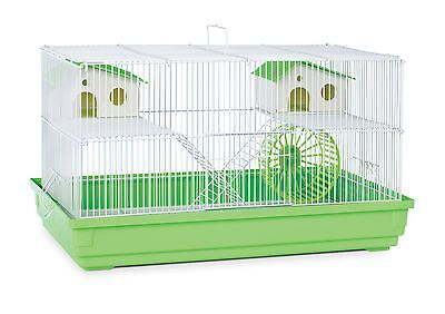 Prevue Hendryx Deluxe Hamster and Gerbil Cage Lime Green New