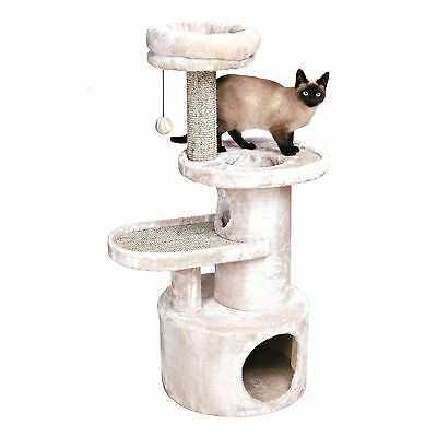 Trixie Pet Products Alessio Cat Tree Light Gray 43.5 New
