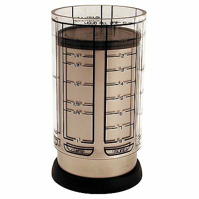 KitchenArt 55250 Pro 1 Cup Adjust-A-Cup Champagne Satin Finish New