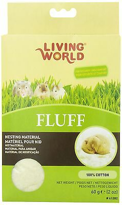 Living World 61282 Hamster Fluff 60gm (2-Ounce) New