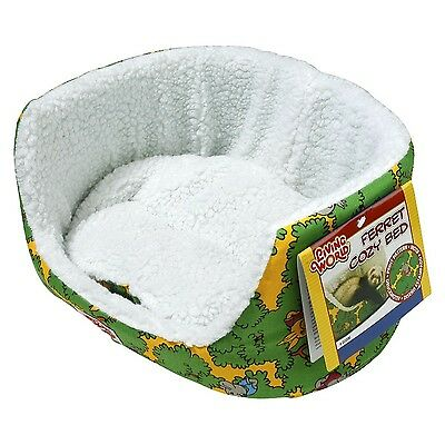 Living World 60896 Ferret Cozy Bed Green 30 x 25 x 14cm (12 x 10 x 5.6-In... New