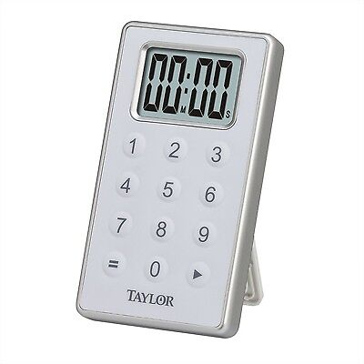 Taylor Digital 10 Key Timer Silver New