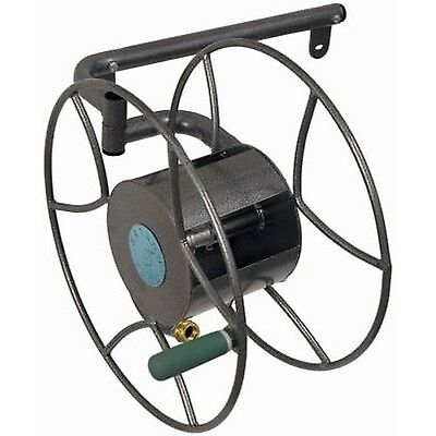 Lewis Lifetime Tools Yard Butler SRWM-180 Wall-Mounted Hose Reel New