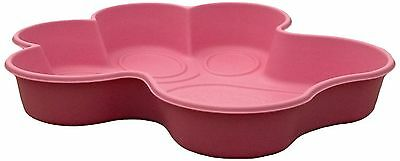 One Dog One Bone PPP04 Paw Shaped Dog Pool Small Pink New