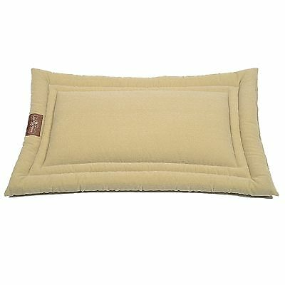 Jax & Bones Microfiber Cozy Dog Mat Tweed Cream Small 24x18-Inch New