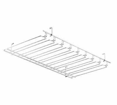 Browne Foodservice (57183650) 36-Inch Chrome-Plated Glass Rack New