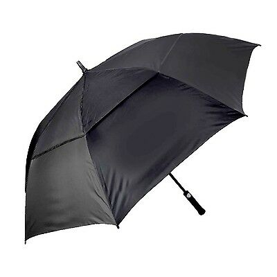 Orlimar Golf Cyclone Umbrella 62-Inch Auto with Eva Soft Handle (Solid Bl... New
