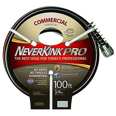 Apex 9844 -100 Neverkink Series 4000 Commercial Duty Pro Garden Hose 3/4-... New