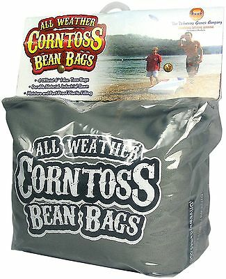 Driveway Games All Weather Corntoss Bean Bags Grey New
