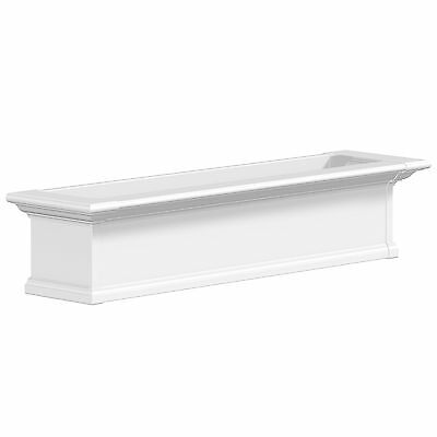 Mayne Yorkshire Window Box 4-Foot White 4ft New