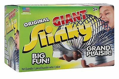 Metal Original Giant Slinky in Box Silver New
