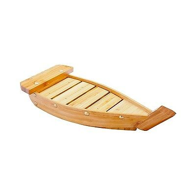 Restaurantware Small Bamboo Sushi Boat (1 Count Box) 13-Inch Brown New