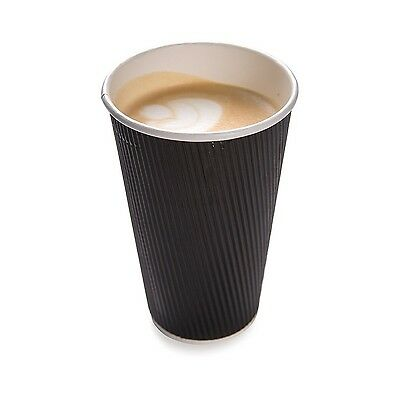 Restaurantware 500-Count Disposable Ripple Wall Coffee and Tea Cup 16-Oun... New