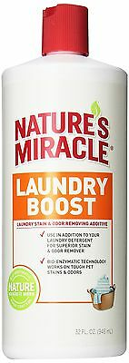 Nature's Miracle Laundry Boost Stain and Odor Additive 32 oz (P-5556) New