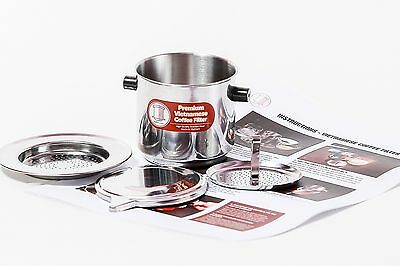 Vietnamese Coffee Filter Set. Also known as a Vietnamese Coffee Maker or ... New