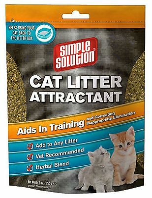 Out International Simple Solution Cat Litter Attractant 9-Ounce 9 oz. 1Pack New