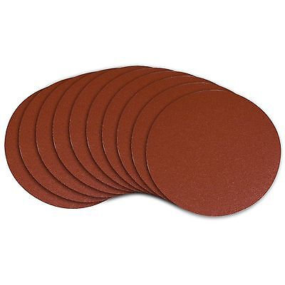 POWERTEC 110580 9-Inch PSA 80-Grit Aluminum Oxide Self Stick Sanding Disc... New