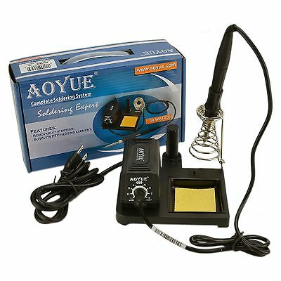 Aoyue 469 Variable Power 60 Watt Soldering Station with Removable Tip Des... New