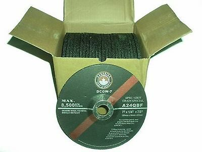 Canadian Tool and Supply (box of 25) 7-Inch by 1/4-Inch Depressed Center ... New