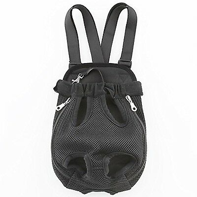 Amzdeal Pet Front Carrier Dog Travel Carrier Bag Backpack Legs Out Dog Ca... New