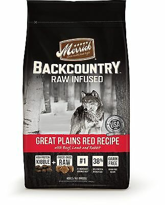 Merrick 37015 Backcountry Great Plains Red Meat Medium New