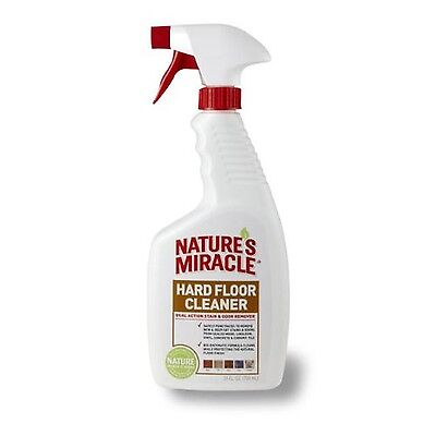Nature's Miracle Dual Action Hard Floor Stain and Odor Remover 24 oz Spra... New