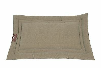 Jax & Bones Microfiber Cozy Dog Mat Tweed Brown X-Large 42x28-Inch New