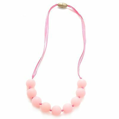 Chewbeads Juniorbeads Madison Jr. Glow in the Dark Necklace Bubble Gum New