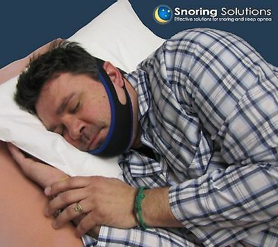 Premium Anti - Snoring Jaw Strap - Stop Snoring Comfortably - Simple and ... New