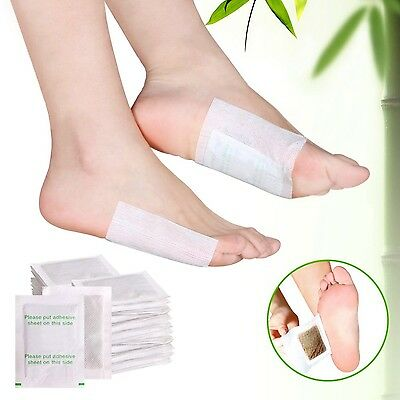 Bestrice 100pcs Detox Foot Pads Patch Detoxify Toxins With 100pcs Adhesiv... New