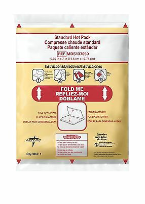 Medline Industries MDS137050 Standard Instant Hot Pack 5.75-Inch X 7-Inch... New