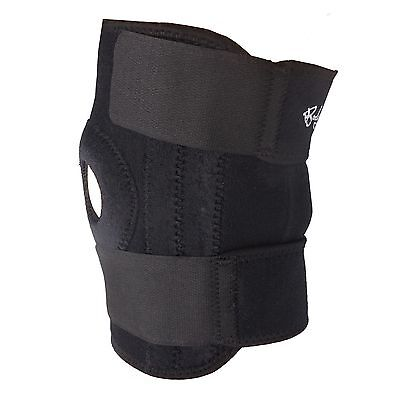 Knee Support by Bodyprox Black Breathable Knee Brace - Adjustable Size. New