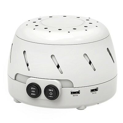 Homasy White Noise Sound MachineSleep Easy Sound Therapy with 3 Time Sett... New