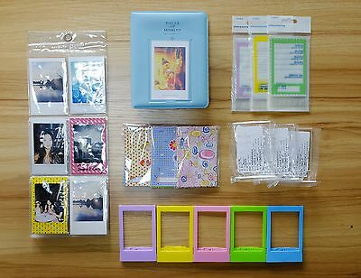 CAIUL 6 in 1 Fuji Instax Mini Album & Frame Bundle(Included: Sweet Time I... New