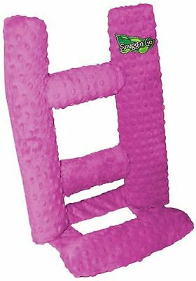 Therapeutic Snuggin Go Infant Seating Support Dark Pink New