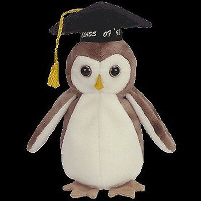 Ty Beanie Babies - Wise the 1998 Graduation Owl [Toy] New