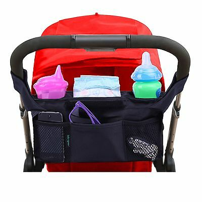 Luxury Stroller Organizer By Lebogner Stroller Accessories Universal Blac... New