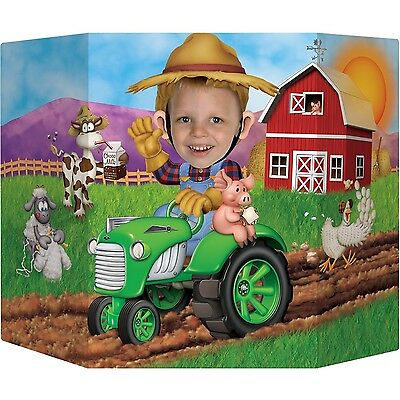 Beistle 57989 Farm Photo Prop 3-Feet 1-Inch by 25-Inch New